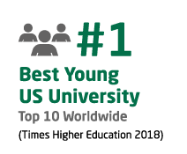 #1 Best Young US University, #10 Worldwide