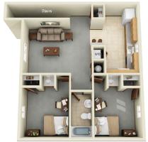 Vernon Stables 2-bedroom
