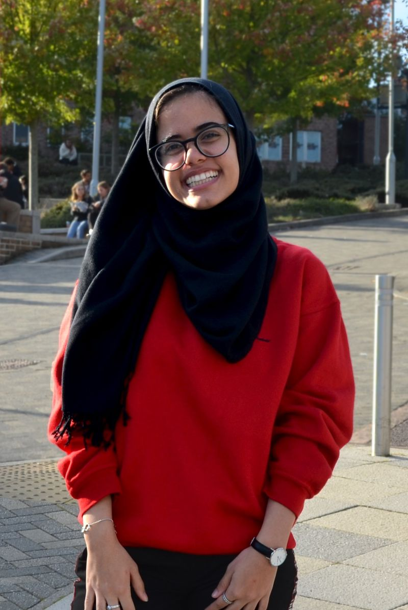 Image of Sara - INTO student at University of Exeter