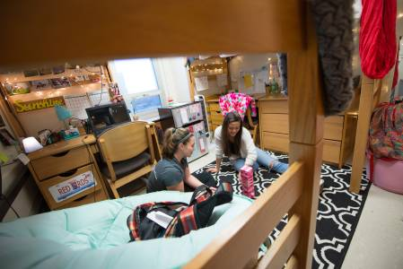 Double Room with Shared Bathroom @ Illinois State University