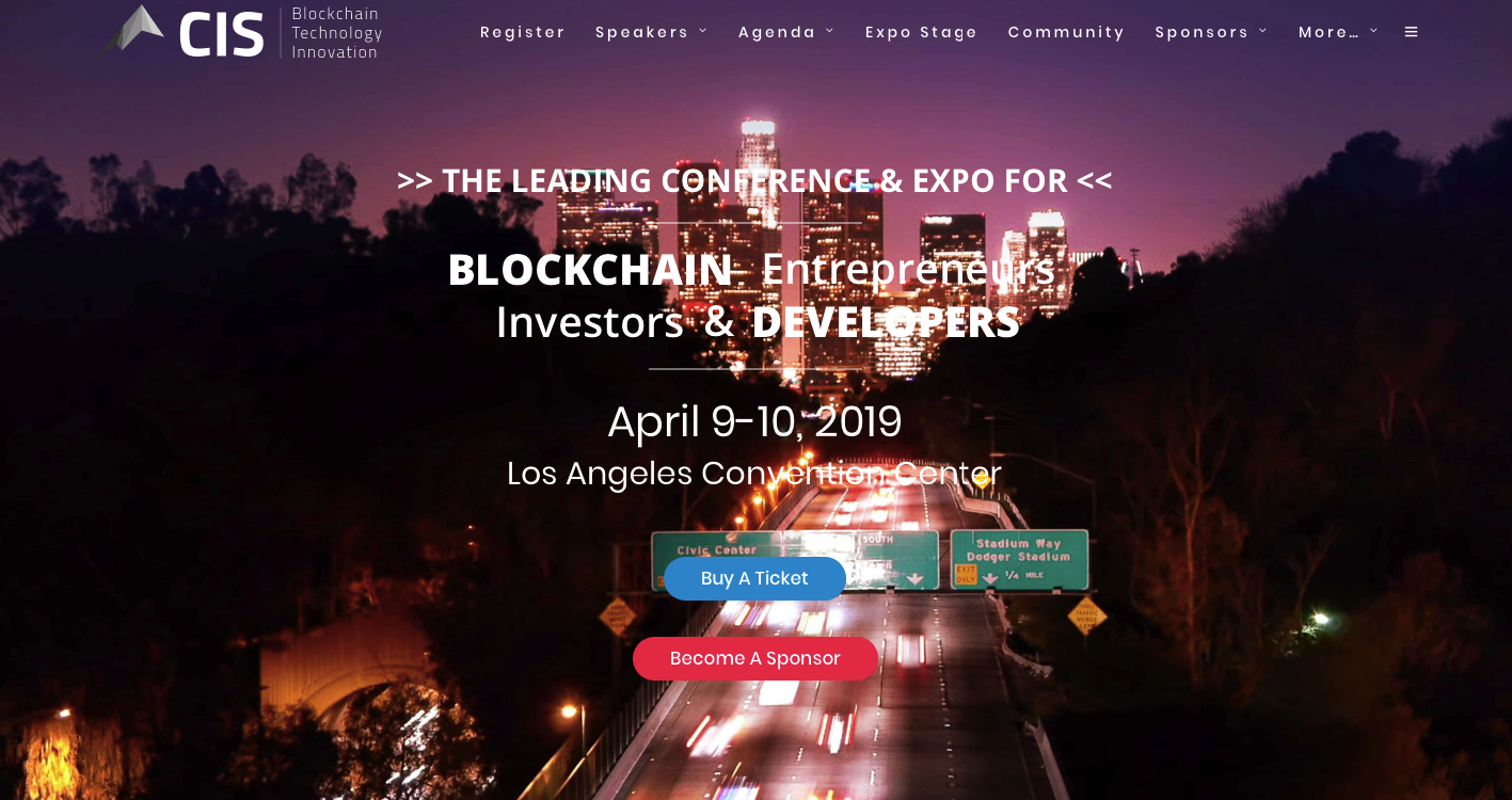 The Global Hackaton (April, Los Angeles) comes with free tickets to Crypto Invest Summit