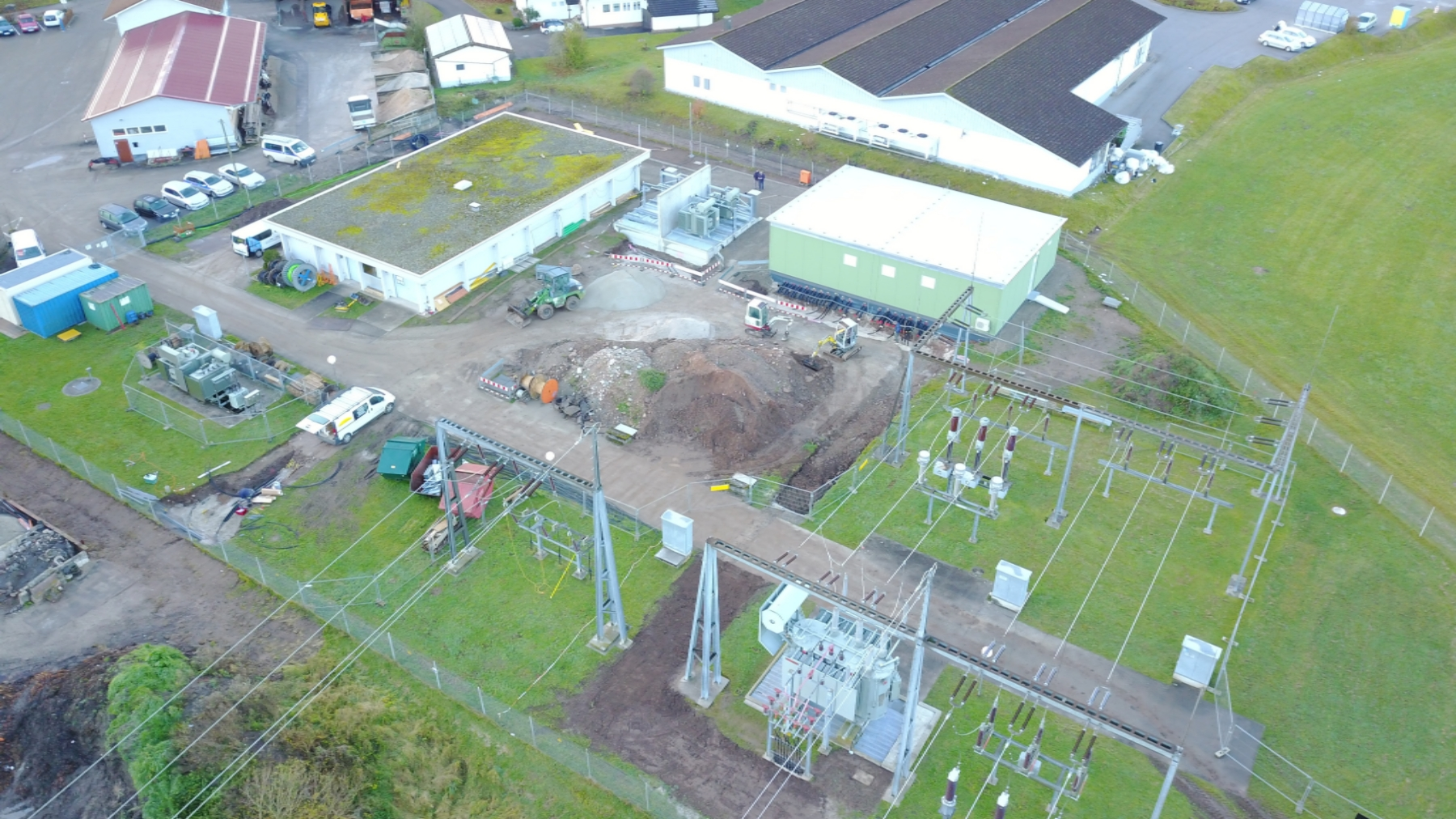 Modernisierungsmaßnahmen im Umspannwerk Tonbach