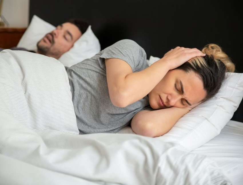 People not sleeping well together