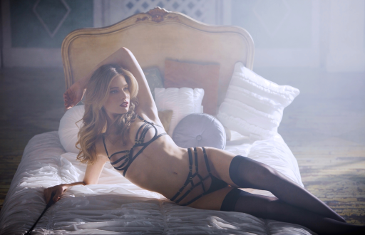 Colette and Sebastian lingerie