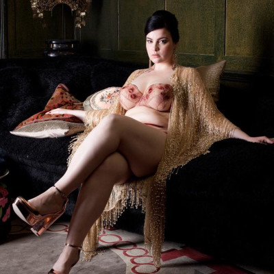 Juliette bra and Cassiopeia beaded robe