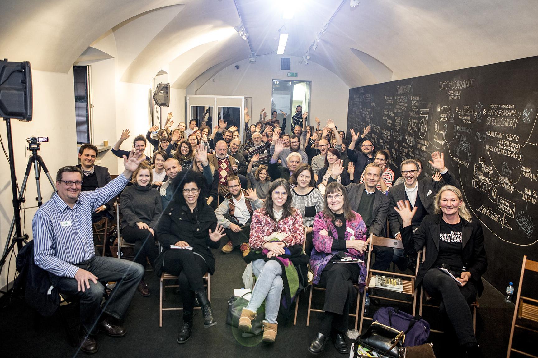 konferencja o społecznościowym zarządzaniu przestrzenią miejską