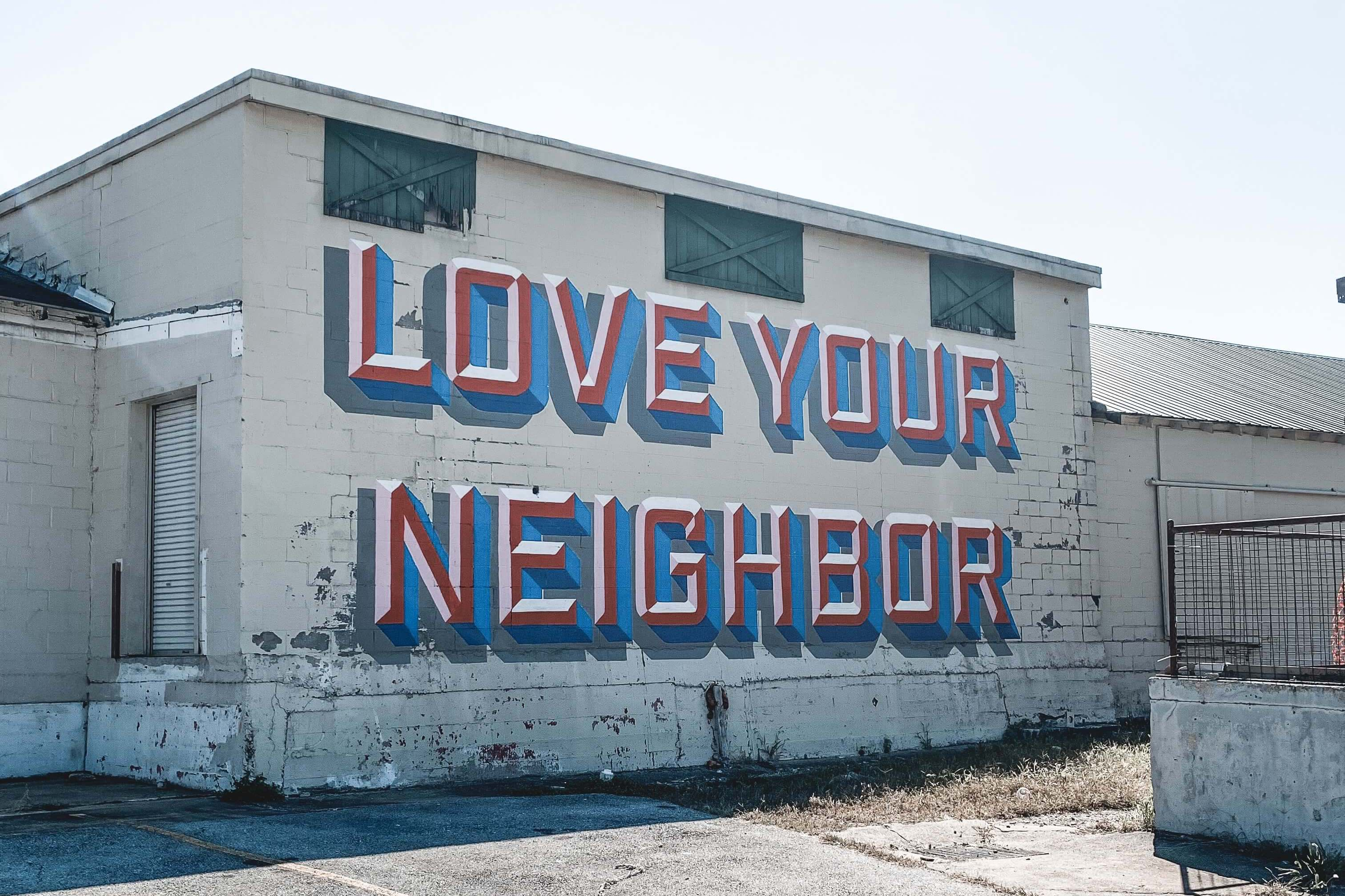 how to love your neighbors image