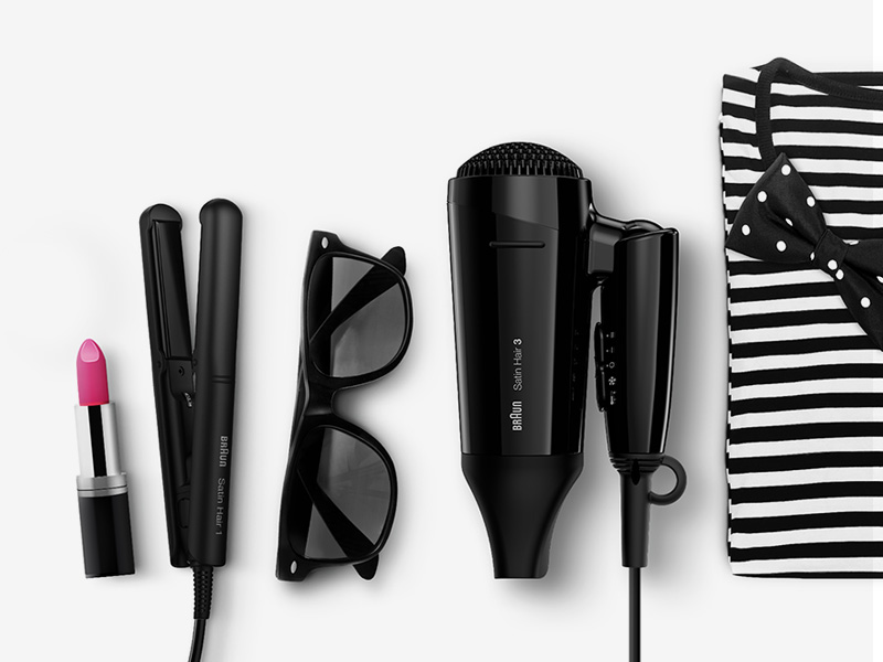 Style&Go range for styling anytime, anywhere