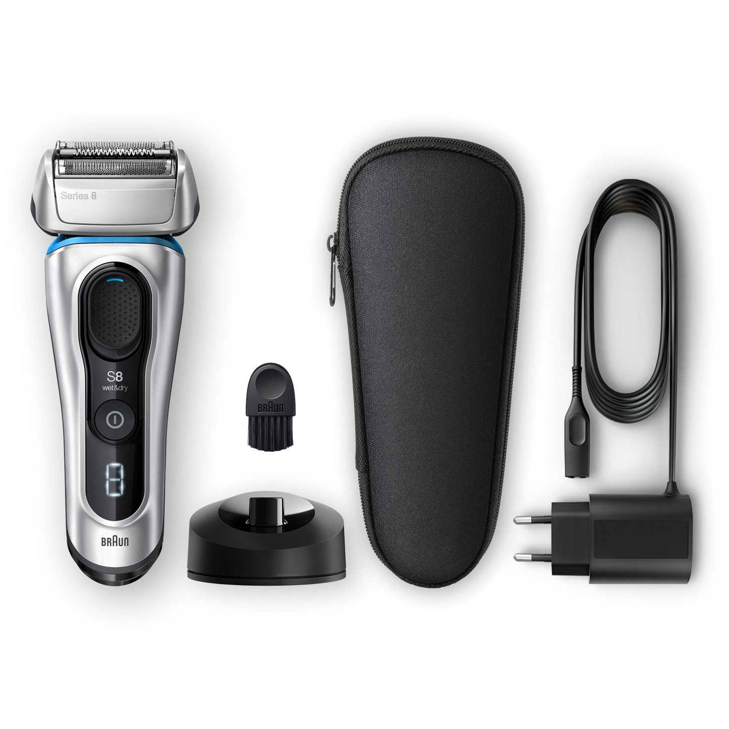 Series 8 8350s shaver - What´s in the box