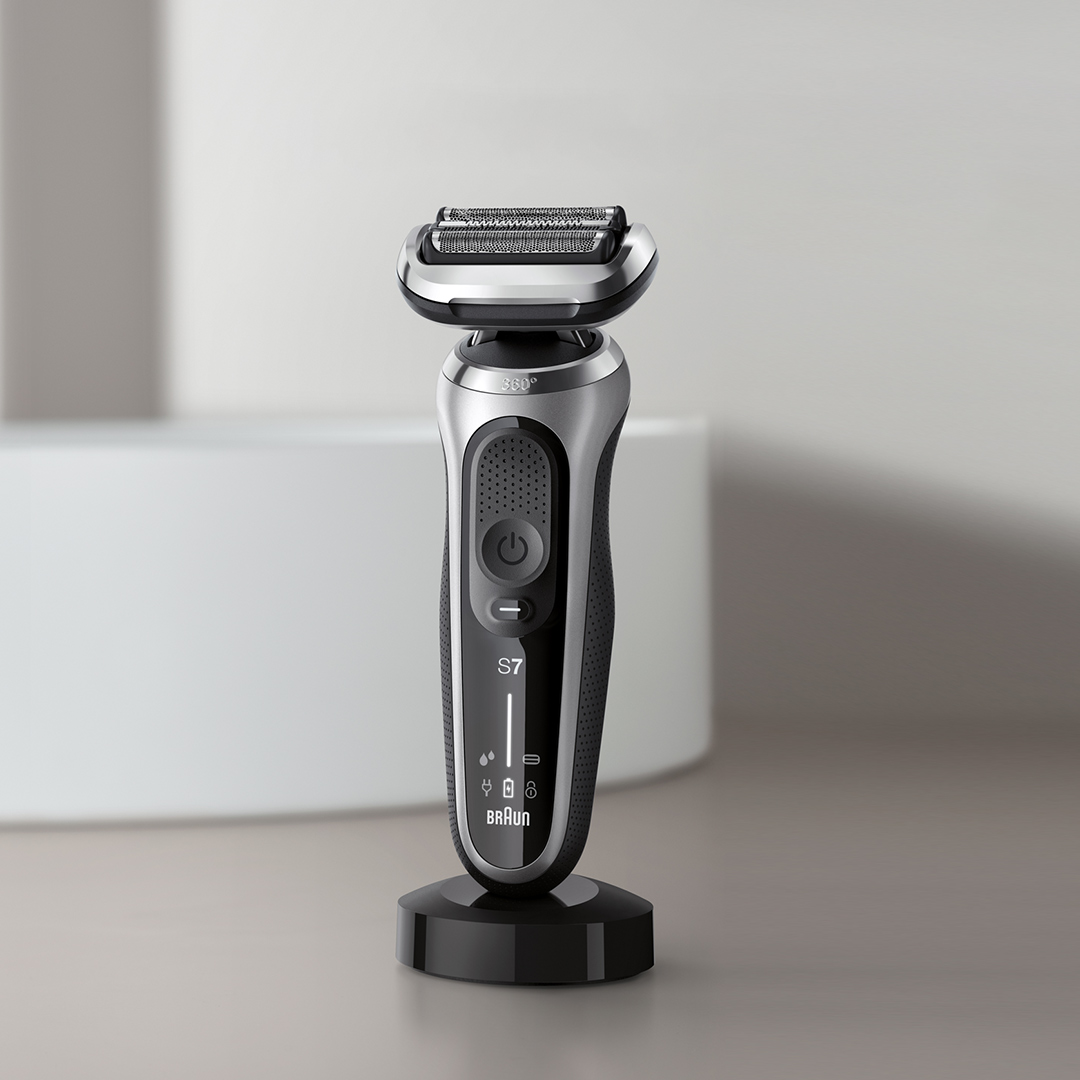 Keep your shaver charged and make an impression in your bathroom