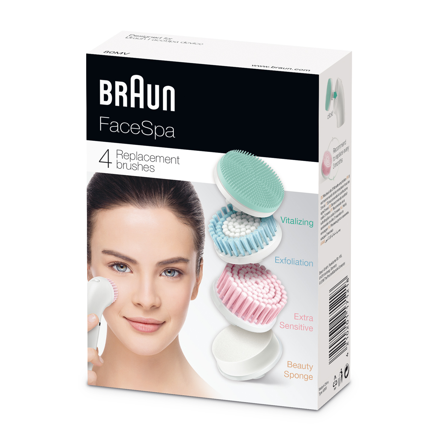 Braun FaceSpa 80MV refills - packaging