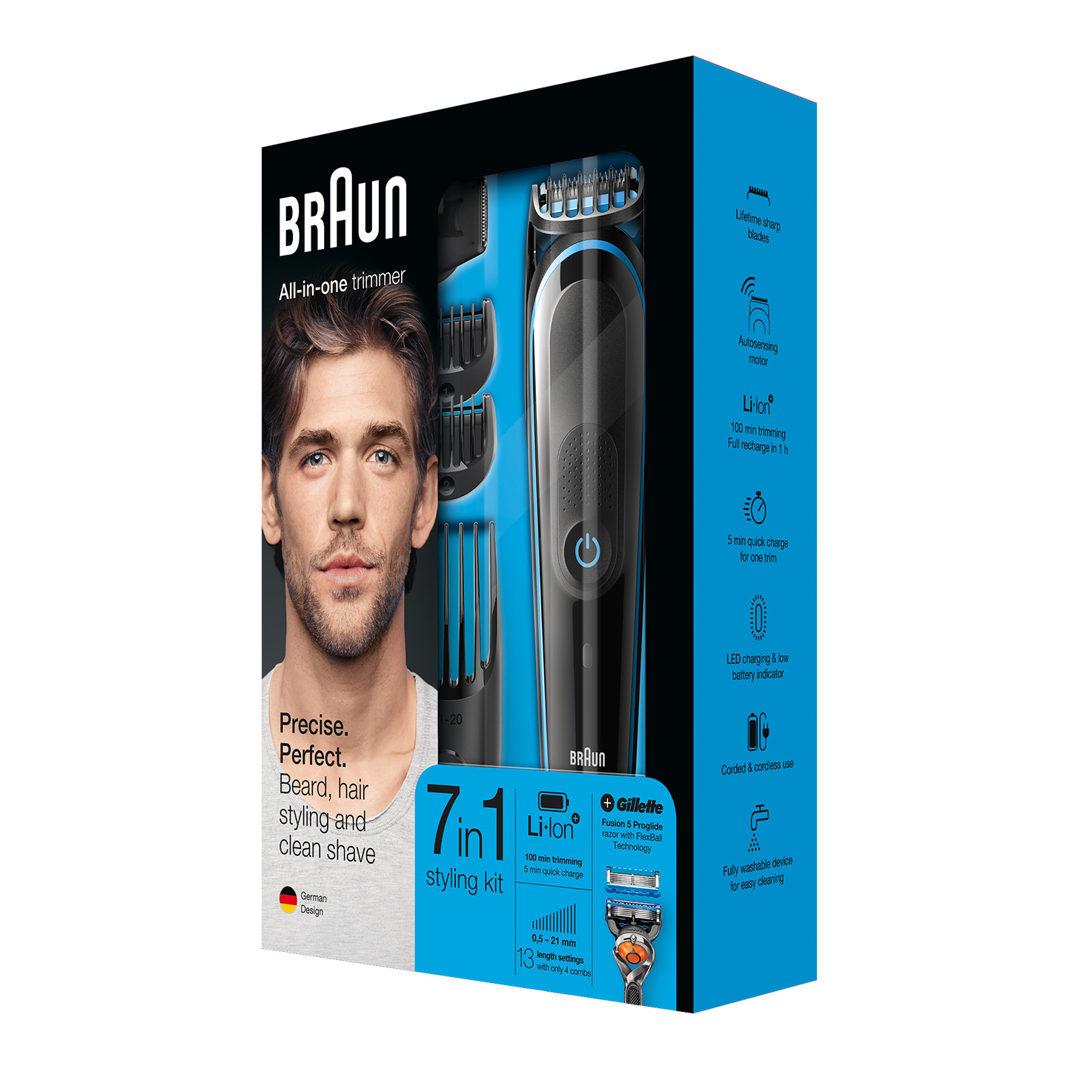 Braun All-in-one trimmer MGK5045 - Packaging