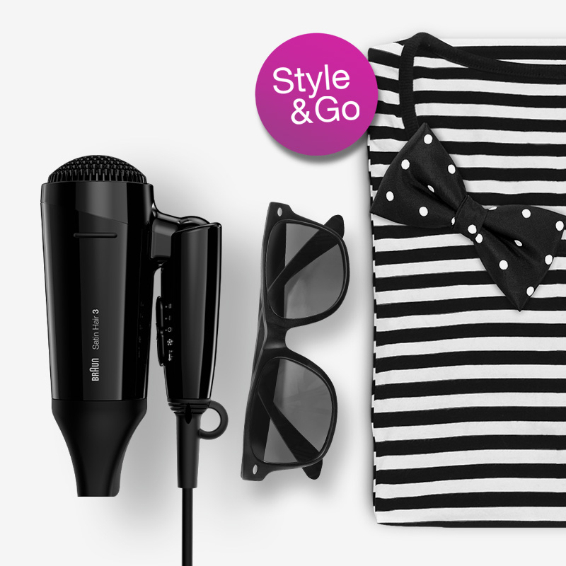 Satin Hair Style&Go dryer