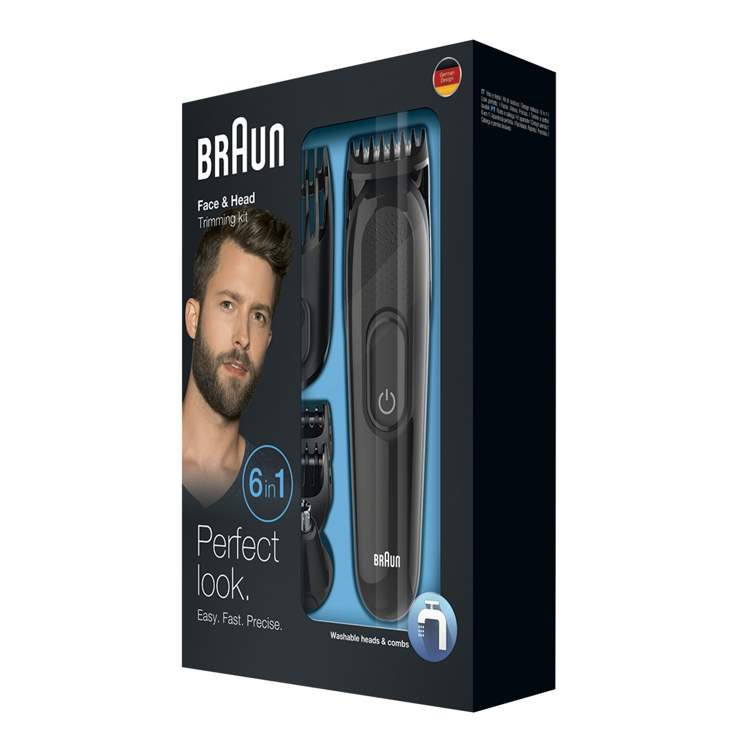 Braun multi grooming kit MGK3045 packaging