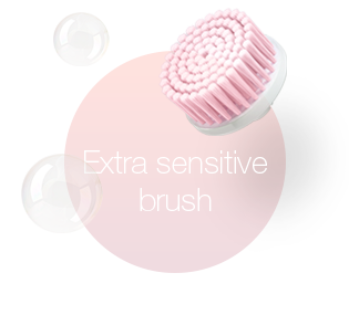 Extra sensitive brush
