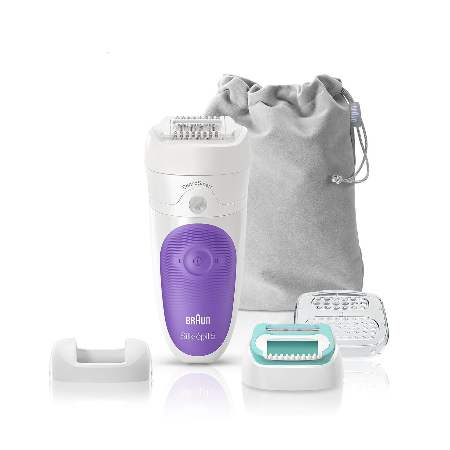 Silk-épil 5 5/880 SensoSmart™ epilator attachments