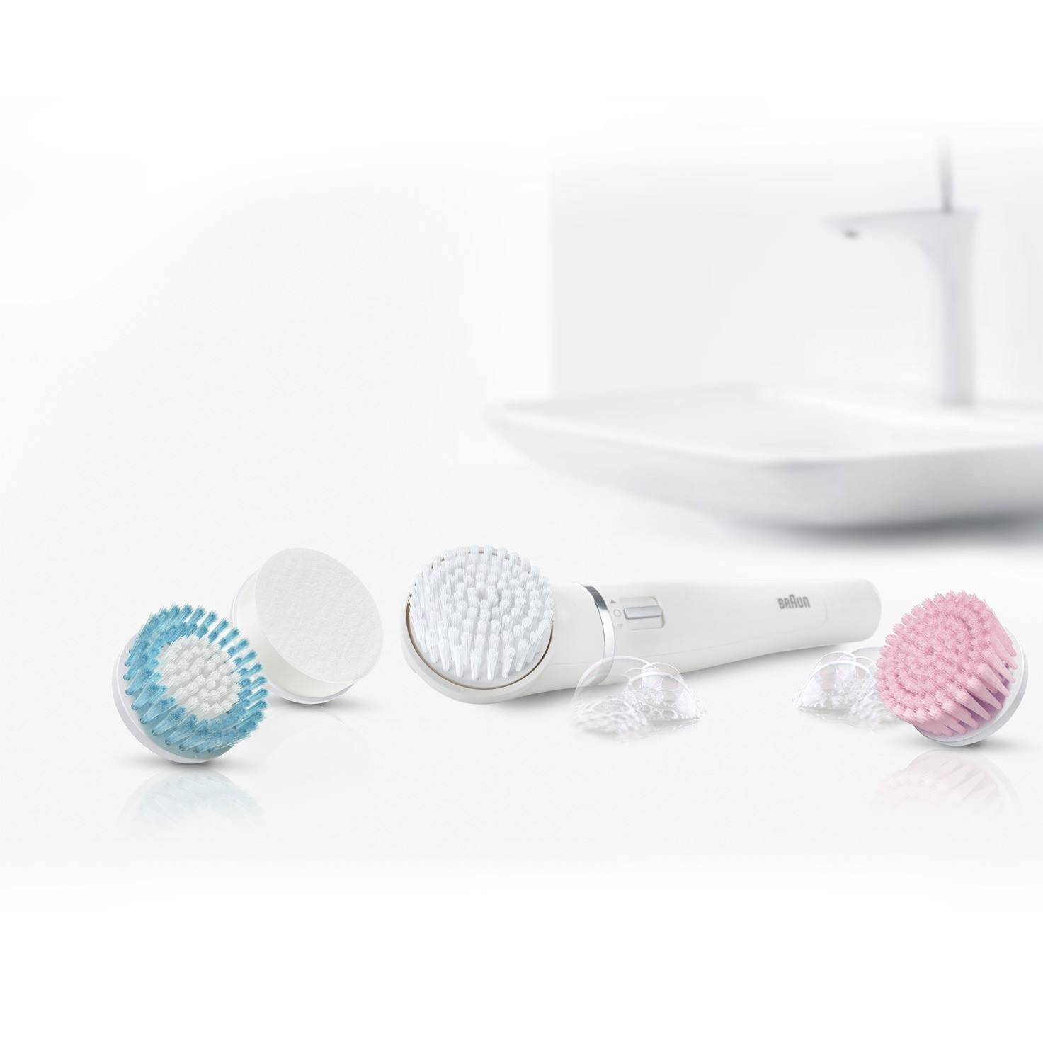 Braun facial cleansing brush refill duo pack 80-m lifestyle