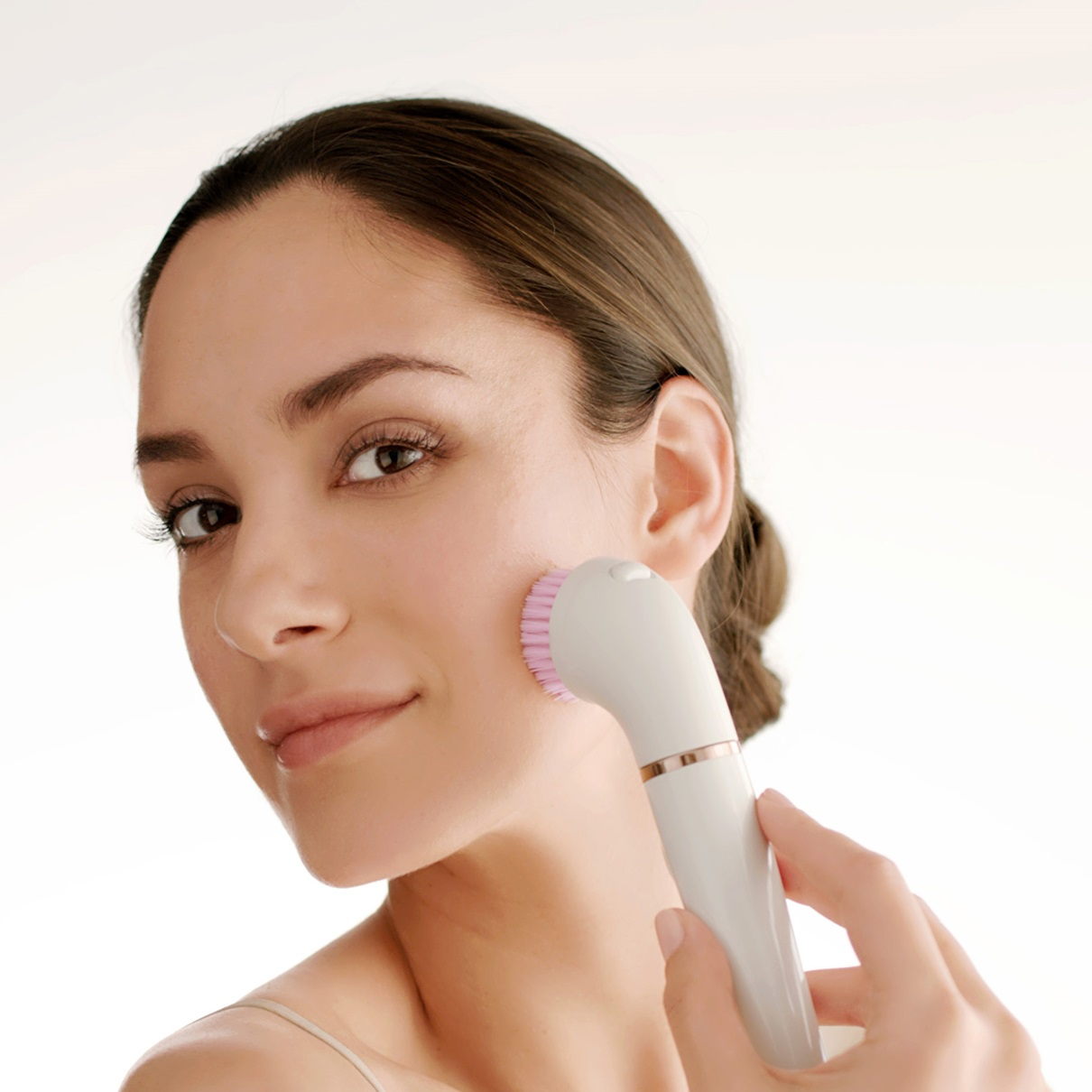 Braun FaceSpa Pro 912 - in use