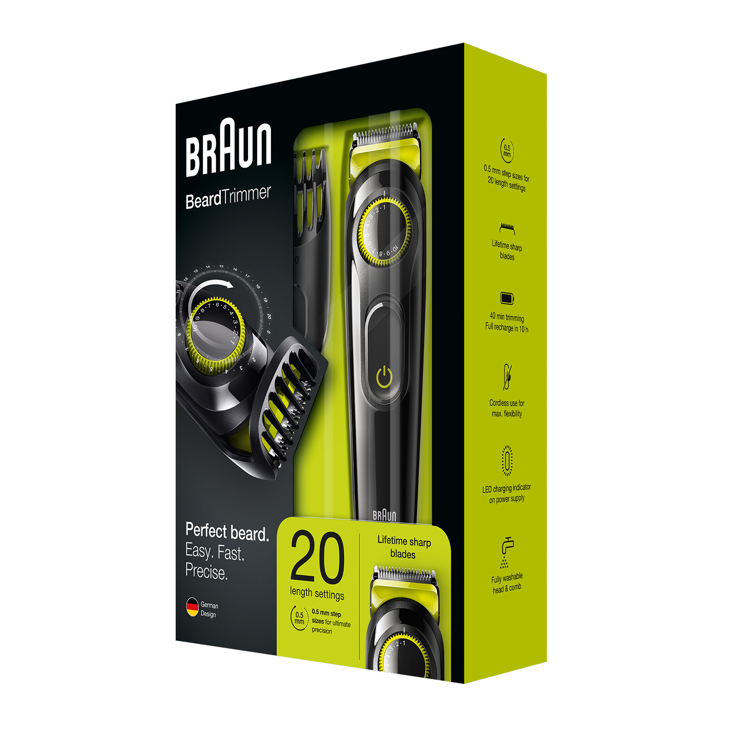 Braun BeardTrimmer BT3021 - Packaging