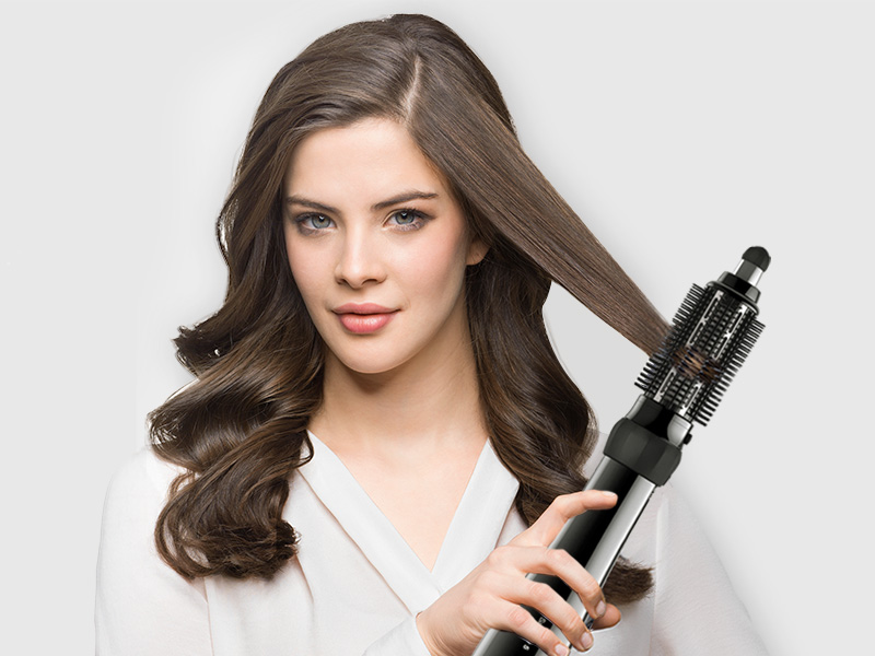 Small & big brush and volumizer attachment for Braun Satin Hair 5 Airstyler