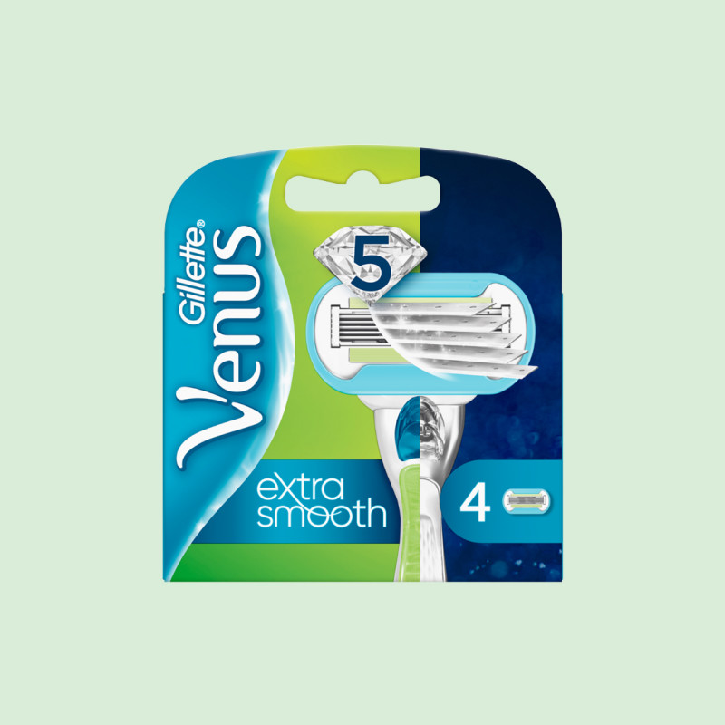 4 recharges Extra smooth Gillette Venus