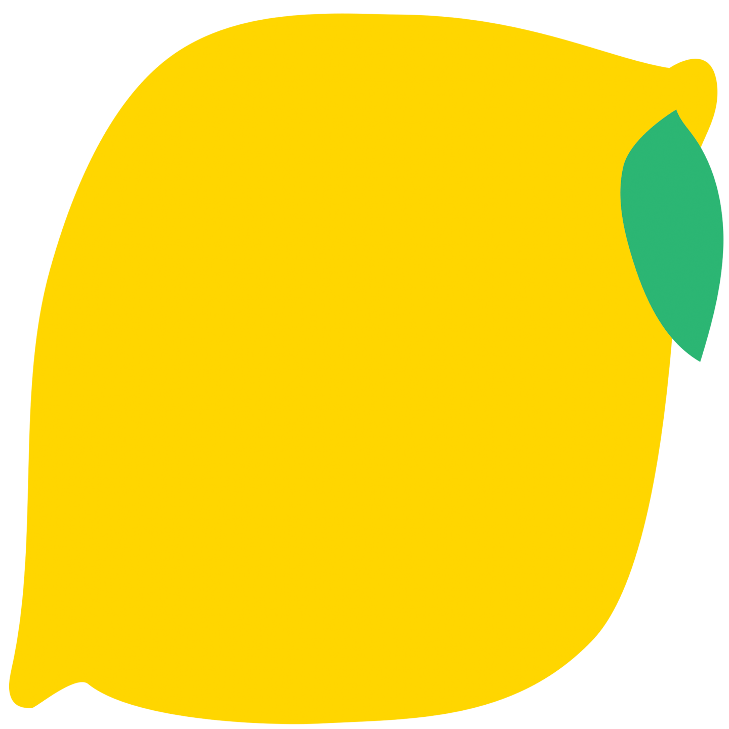 An animated image of a lemon