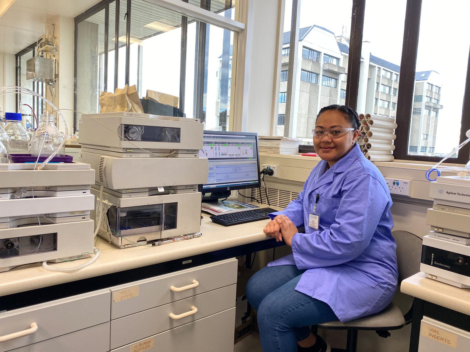 Asena Foliaki: helping Tongan vanilla growers gain more from their crops