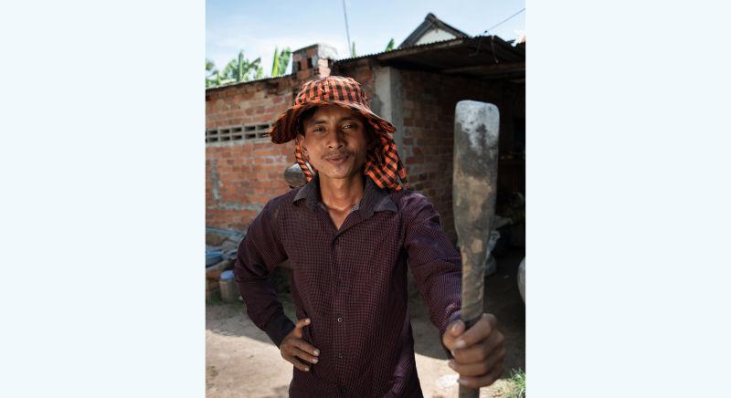 Sim Sokhon: small farm, big voice