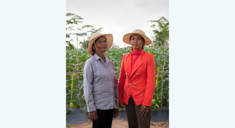 Prum Yun and Som Mom: blue skies ahead