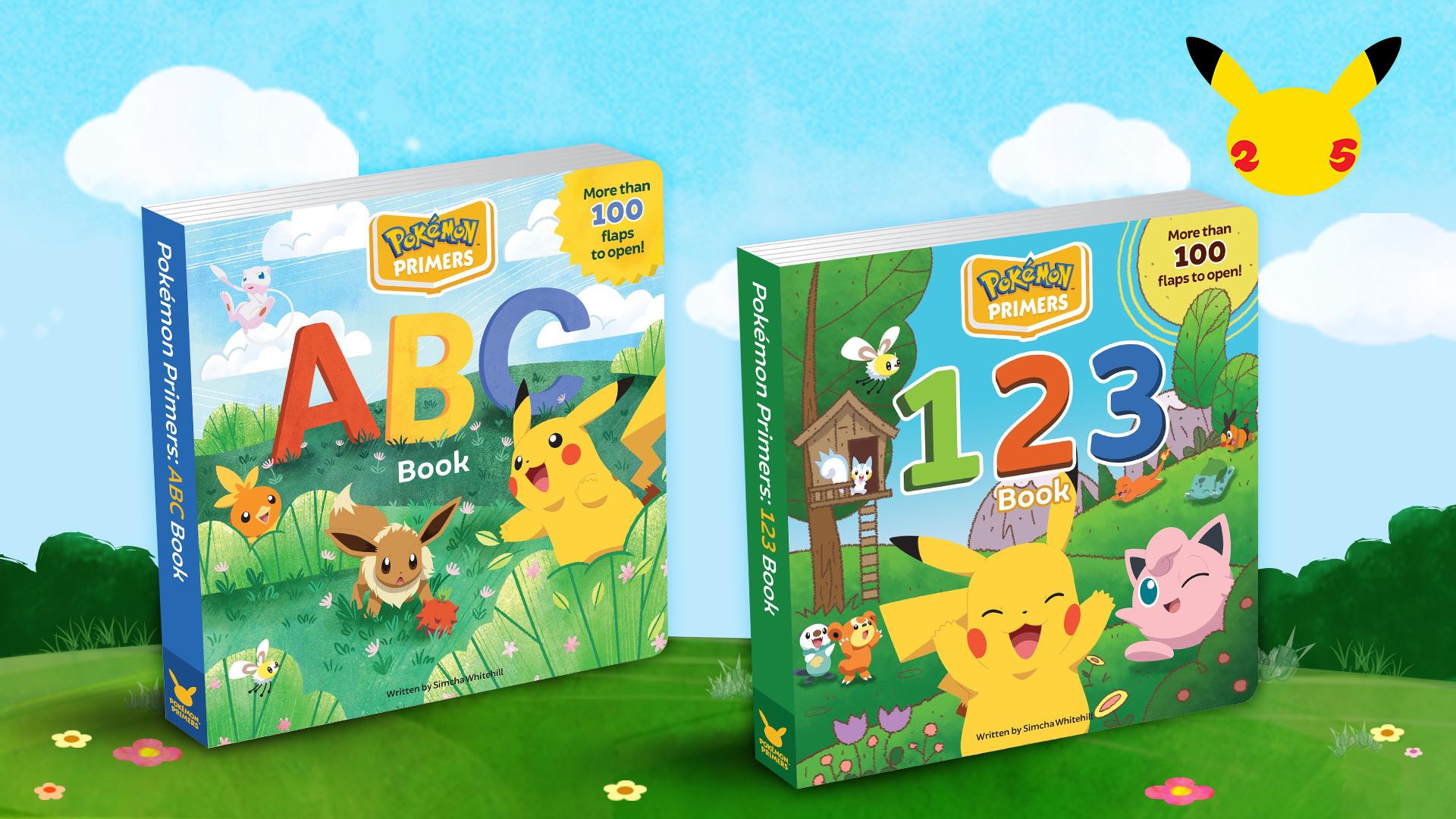 Pokémon-Primer-Books
