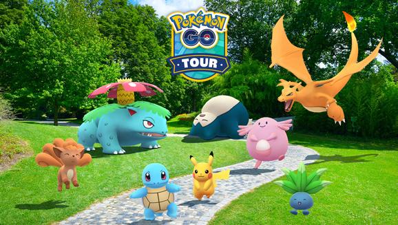 Pokémon Go Tour Logo