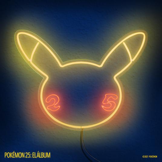 Album P25 Music Pokémon