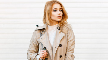 The Cutest Trench Coats For Your Winter-Spring Transition