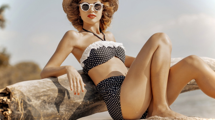 Available Now: These High-Waisted Bikinis Are Bringing The Summer Feels