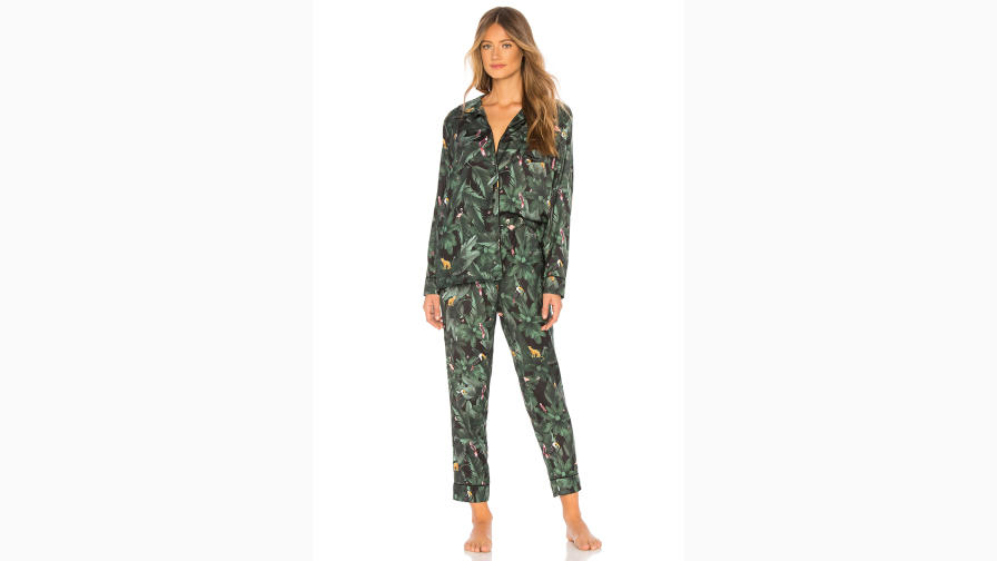 The Silky Jungle Print PJ
