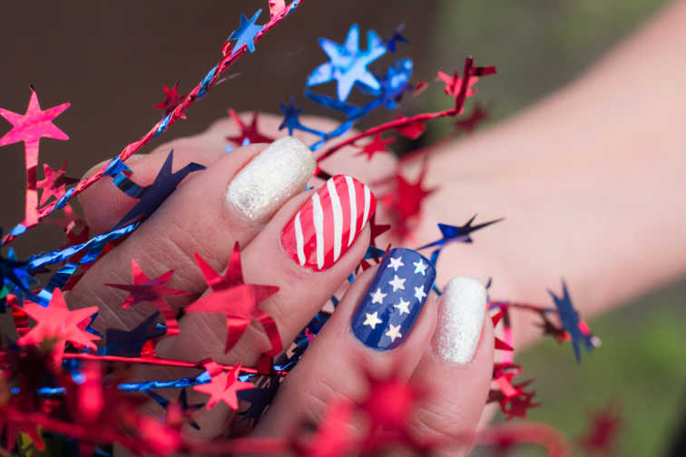 10 Fabulous Manicures That Will Help You Celebrate The Fourth Of July In Style
