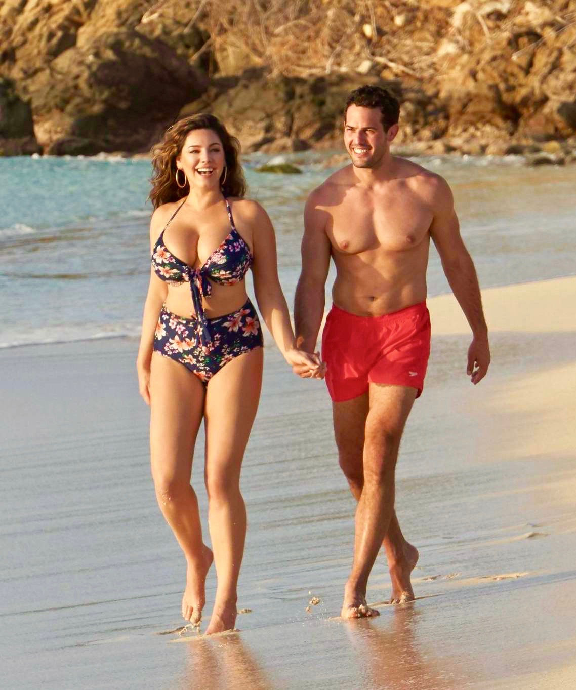 Kelly Brook and Fiance