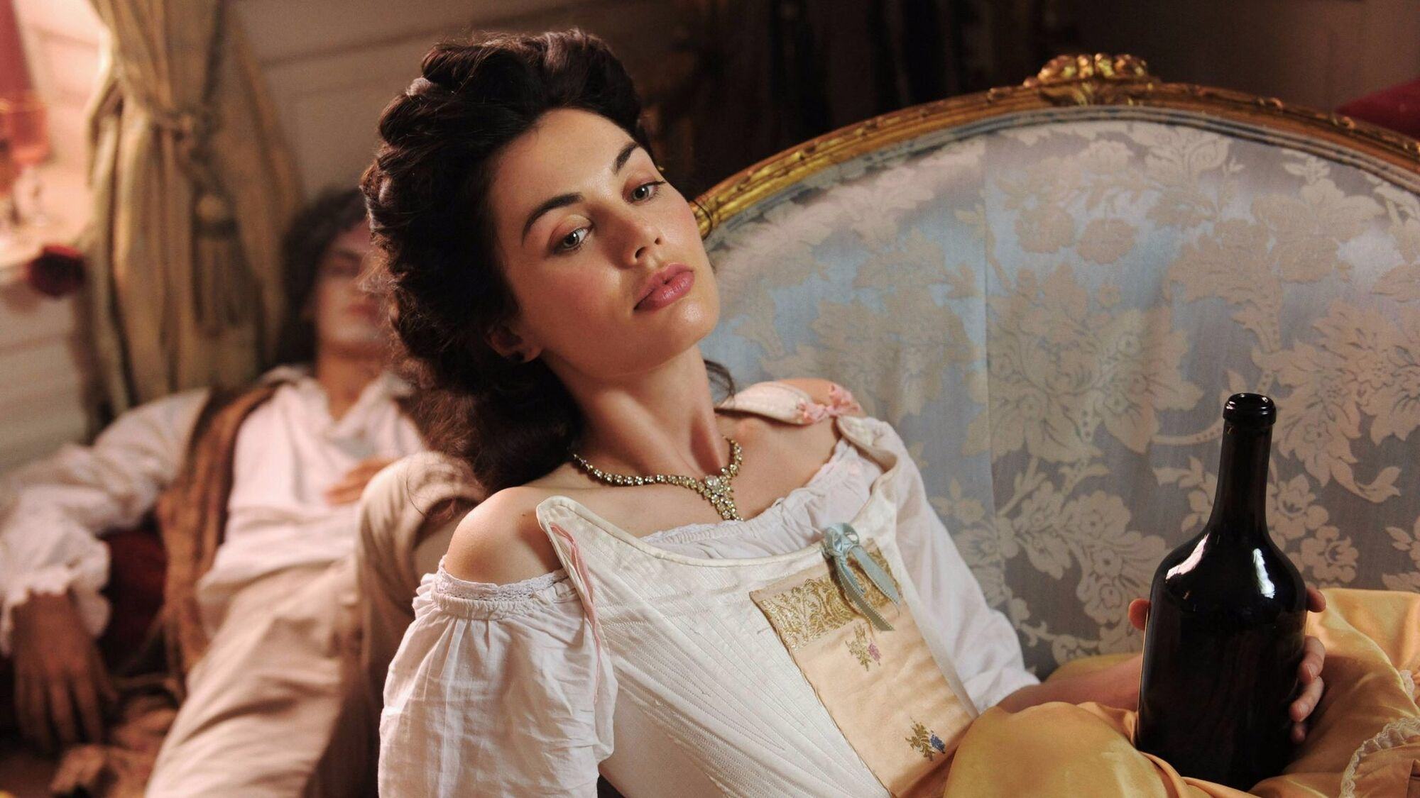 Photo- Poppy Corby-Tuech as Marie-Louise D'Aubigne