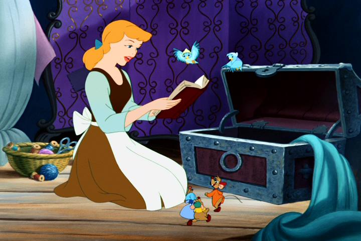 Cinderella and animals