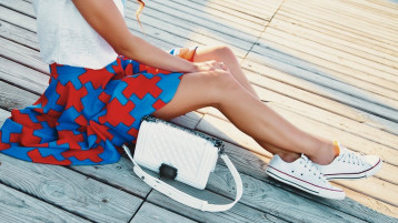 3 Sneaker Styles That Go Best With Skirts And Dresses