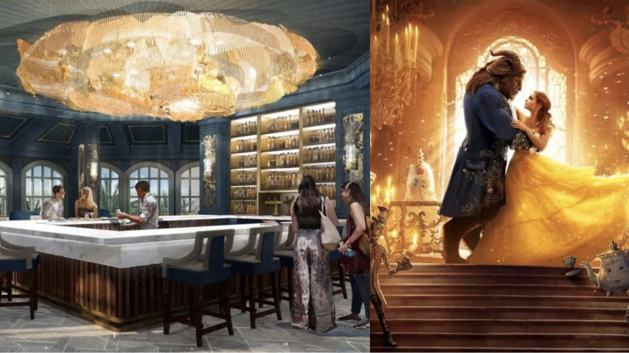 A Beauty And The Beast Themed Bar Is Coming To Disney World And We're So Here For It