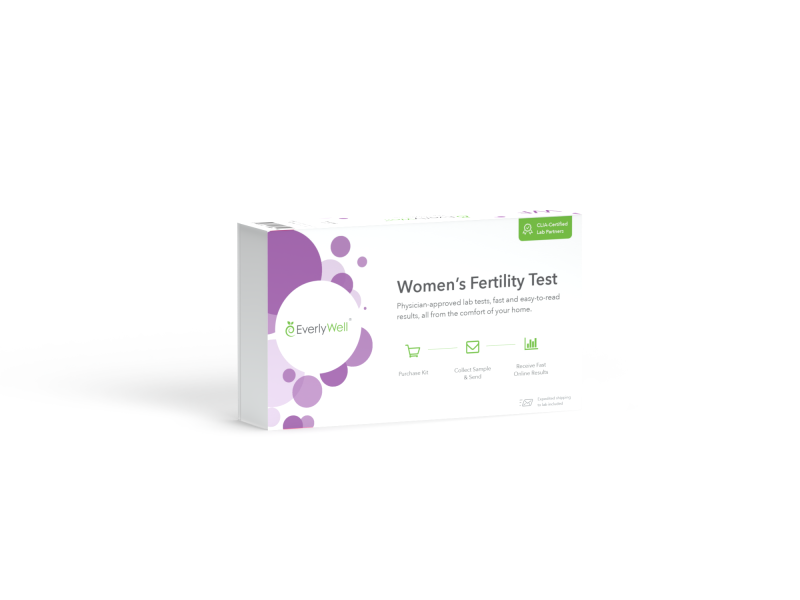 At-home Women's Fertility Test Kit