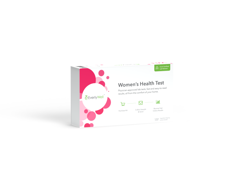At Home Women's Hormone Level Blood Test Kit