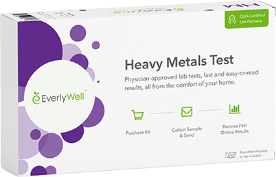 At-home Heavy Metals Test