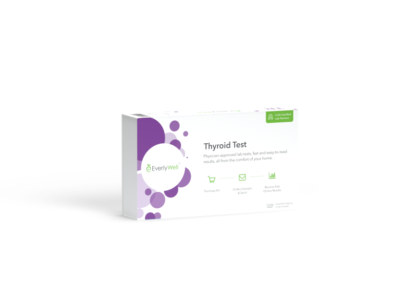 At Home Thyroid Level Blood Test Kit