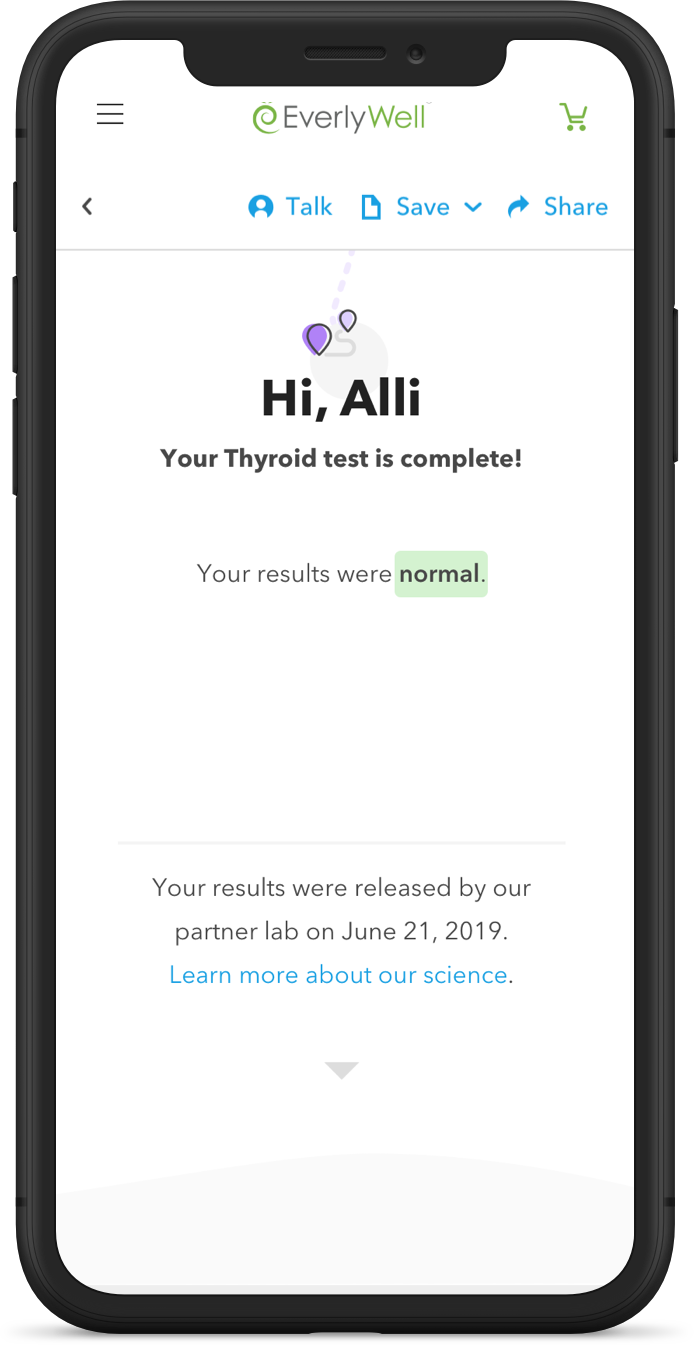 At Home Thyroid Test - Results You Can Understand - EverlyWell