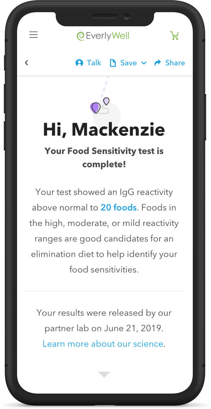 At Home Food Sensitivity Test - Results You Can Understand