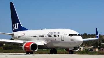 SAS Scandinavian Airlines airplane