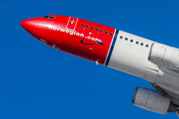 Norwegian aircraft - Norwegian flight delay compensation
