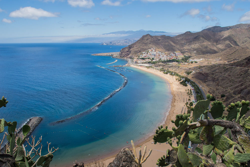 A view of Tenerife